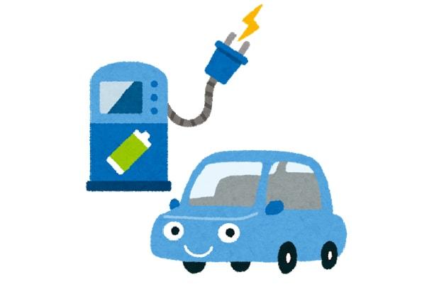 EV車の充電スタンドを設置しております